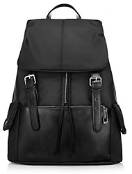 Women Oxford Cloth Casual / Outdoor Backpack Black