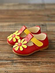 Babyschuhe-Outddor-Leder-Sandalen-Gelb / Rosa / Rot / Weiß / Gold