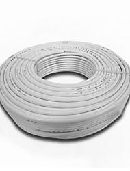 rvv3 * 4 lige runde bløde jakke linje gb 4 firkantede kobbertråd og 3-leder (tilfældig hårfarve kabel 100 m / rulle)
