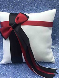 White 1 Ribbons Bow Satin