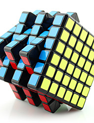 Yongjun® Smooth Speed Cube 6*6*6 Flourescent / Professional Level Magic Cube Black / White / Pink Plastic