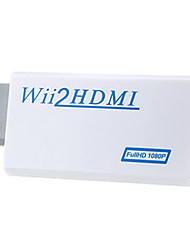 Windows 7 0,06 M de la ayuda HD 1080p Wii al convertidor de HDMI
