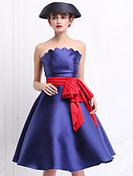 Pour My Fair Lady® Femme Sans Bretelles Sans Manches Au dessus des genoux Robes-1502029