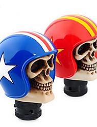 автомобиль головной убор шлем череп головы солдата общая модификация высококачественной смолы для индивидуальных загонах
