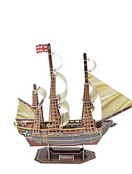 Bounty paper puzzle toy ship model