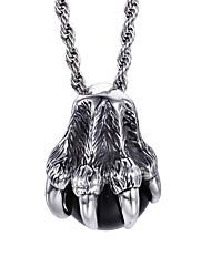 aço inoxidável garra de águia colar de pingente de estilo jóias masculinas kalen®gothic