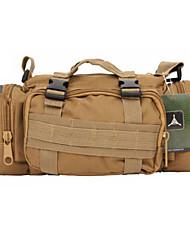 10 L mochila Multifuncional Verde Militar Oxford