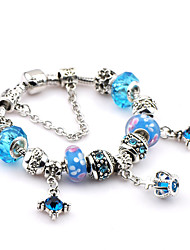 Women Crystal Fashionable Daily Strand Bracelets