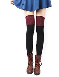 Women Thin Stockings,Cotton / Polyester