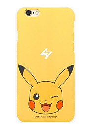 Pocket Little Monster Pika Pika 5.5 inch Iphone 6p/6splus Hard Matting Cellphone Cover