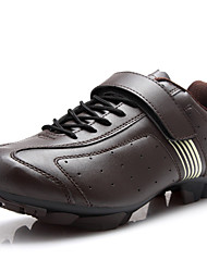 Men's Shoes Customized Materials Athletic Shoes Cycling Lace-up Taupe