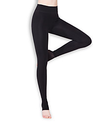 BONAS Women's Solid Color Thick Legging-S8183