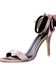 Women's Shoes / Fall Heels / Peep Toe Sandals Party & Evening Stiletto HeelRhinestone / Crystal / Feather / Bowknot