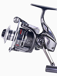 Spinning Reels 5.1/1 12 Ball Bearings Exchangable Bait Casting / General Fishing-BM4000 Debao