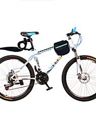 Bicicleta De Montanha Masculino / Mulheres / Unissex Comum Freio a Disco Duplo Comum / Quadro de Aço Comum / Anti-Escorregar 21 velocidade