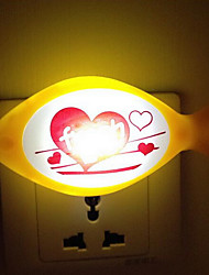 (Color Random)Fish Smart light Sensor LED Night Light