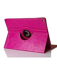 7.9 Inch Holding Pattern  360 Degree Rotation PU Leather Case for iPad mini 1/2/3(Assorted Colors)