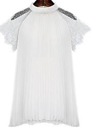 Women's New Style Lace Loose Chiffon wm Plus Size Top