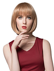 Lovely Bob Hairstyle Capless Human Hair Wig