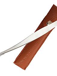 Пинцет для наклеивания ресниц Нержавеющая сталь / Металл 1 Others 12.5x1cm Нормальная Розовый