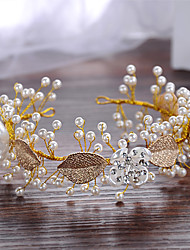 The Pearl Leaves Bride Headwear Decoration