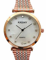 Men's Fashion Watch Casual Watch Quartz Stainless Steel Band Charm Luxury Silver Gold