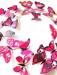 3D Pegatinas de pared Calcomanías de Aviones para Pared Calcomanías Decorativas de Pared,Plastic MaterialRemovible / Puede Cambiar de