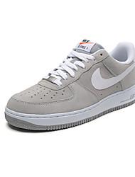 Nike Nike Air Force 1 Baskets / Chaussure de Jogging / Chaussures pour tous les jours Homme Antiusure Lacet / Basses Sport de détenteGris