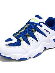 Da uomo-Sneakers Zoccoli e ciabatte-Casual SportivoPiatto-Tulle-Blu Bianco Nero e bianco