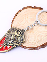 Lol Games Lion Head Shield Shape Keychain Fight For The Alliance