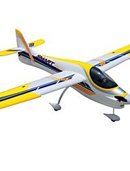 Dynam Smart Trainer 1:8 Moteur Sans Balais 50KM/H Quadrirotor RC 5canaux 2.4G EPO Yellow Assemblement requis