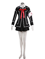 Inspired by Vampire Knight Cosplay Anime Cosplay Costumes Cosplay Suits Patchwork Black Top