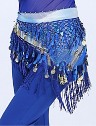 Belly Dance Belly Dance Belt Women's Polyester Tassel(s) 1 Piece