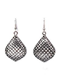 Earring Geometric Drop Earrings Jewelry Women Fashion Wedding / Party / Daily / Casual Alloy 1 pair Silver