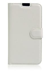 Outro Pele PU / PVC Capa Traseira / Capas de Corpo Inteiro / Capas com Suporte Design Especial tampa da caixa LG K8 K4 V20