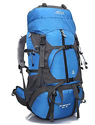 65 L Походные рюкзаки / Организатор путешествий / рюкзак Отдыхитуризм На открытом воздухеВодонепроницаемый / Быстросохнущий / Пригодно