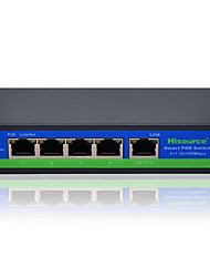 Husource Hi-F0410F 10Mbps/100Mbps 4 LAN Fast Ethernet Router Desktop Ethernet Switch