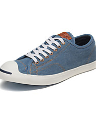 Zapatos de Hombre-Zapatillas de deporte-Exterior / Casual / Deporte-Vaquero-Negro / Azul