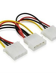 4 Pin 4 Pin IDE One Point Two Power Line Extension(10 Pcs)