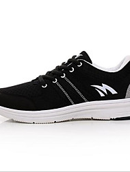 Running Shoes Men's Shoes PU Athletic Sneakers Athletic Sneaker Low Heel Lace-up Black / Blue / Gray