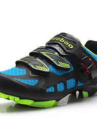 Zapatos Ciclismo Materiales Personalizados Azul / Negro Hombre
