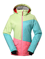 GSOU SNOW® Ski Wear Ski/Snowboard Jackets Women's Winter Wear Polyester Winter ClothingWaterproof / Breathable / Thermal / Warm /