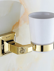 Toothbrush Holder / Polished Brass / Wall Mounted /15*10*12 /Brass /Antique /15 10 0.32