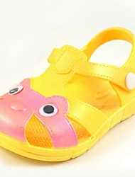 Sandálias(Amarelo) - deMENINA-Conforto / Bico Aberto / Sandálias