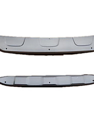 BYD Song Before And After The Bumper Modification, Stainless Steel Plate, BYD Special Under The Baffle