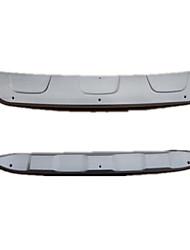 canzone BYD prima e dopo la modifica del paraurti, piastra in acciaio inox, BYD speciale sotto il deflettore