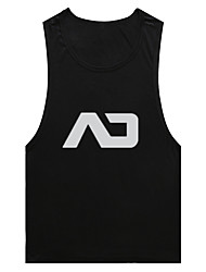 Running Tank / Tops Men's Breathable Fitness / Racing / Leisure Sports Sports Sports Wear