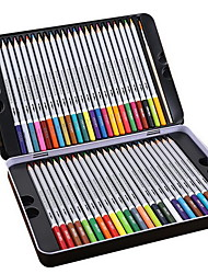 Water Soluble Iron Boxes with 48 Color on Lead Painted Colouring