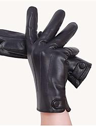 lavados couro da motocicleta cavaleiro luvas quentes dos homens quente luvas de couro pu anti