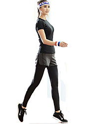 XAOYO® Cycling Jersey with Tights Women's Wearable Bike Bottoms Fleece Exercise & Fitness Spring Summer Fall/Autumn
